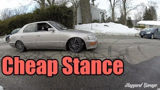 Download How To Stance Your Car For Super Cheap Video