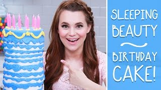 Download SLEEPING BEAUTY BIRTHDAY CAKE - NERDY NUMMIES Video