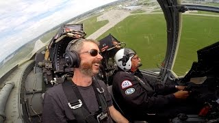 Download 1st Fighter Jet Flight + Turbulent Warbird Formation over charity event for kids - Flying VLOG Video