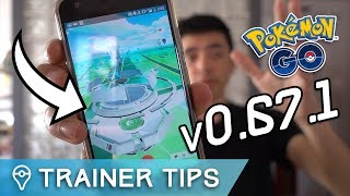 Download POKÉMON GO UPDATE v0.67.1 IS HERE!! NEW GYMS, APK MINE, + MORE! Video