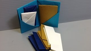 Download Formal Colors Origami Folder, Book, Stationery Video