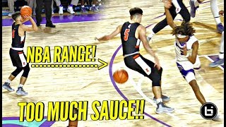 Download White Chocolate Jordan McCabe STRAIGHT COOKIN' on The BIGGEST HS Basketball Stage! Brings The SAUCE! Video