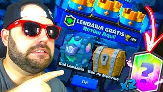 Download GANHEI 2 CARTAS LENDÁRIAS MAS PERDI NO CLASH ROYALE - BRUNO CLASH Video