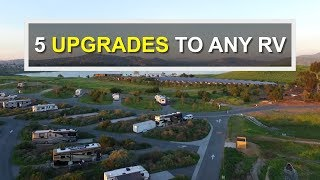 Download 5 Basic UPGRADES For Your RV or Camper (RV Living) Video