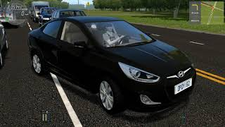 Download City Car Driving - Hyundai Solaris 2011 (accent) Video