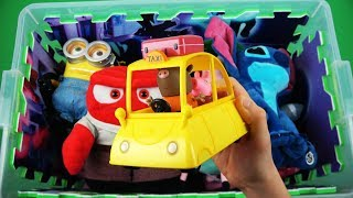 Download Learn characters, colors & vehicles of Dory, Peppa Pig, Ben and Holly, Inside Out and other for kids Video