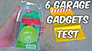 Download 6 Garage Gadgets put to the Test Video