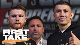 Download First Take previews Canelo Alvarez vs. Gennady Golovkin fight | First Take | ESPN Video