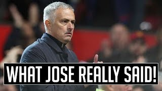 Download WHAT MOURINHO ACTUALLY SAID (CONTAINS SWEARING) Video