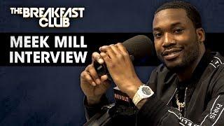 Download Meek Mill Talks Justice Reform, Opioid Addiction, Talks With T.I. Nicki Minaj + More Video
