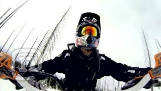 Download Ronnie Renner Snow Biking Idaho FMX Style: Upside Down & Inside Out Ep. 8 Video