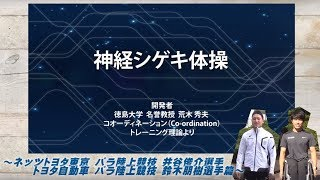 Download 神経シゲキ体操 パラ陸上競技 井谷選手&鈴木選手篇 Video