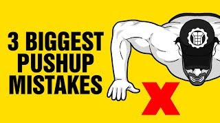 Download 3 Biggest Pushup Mistakes Most People Make & And How To Fix Them Instantly - Sixpackfactory Video