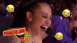 Download AUDITIONS That Will Leave You LAUGHING OUT LOUD On Britain's & America's Got Talent | Punchline Video