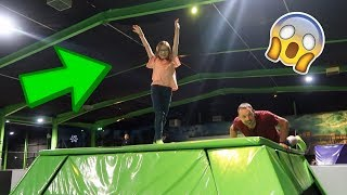 Download WORLD'S BIGGEST TRAMPOLINE ARENA & CALLING OUR INSTAGRAM FOLLOWERS! Video