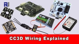 Download CC3D Flight Controller Wiring Connection Explained Video