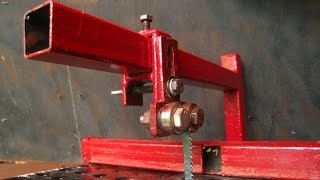 Download My New Favorite Homemade Tool. Jig Saw Vice Attachment Video