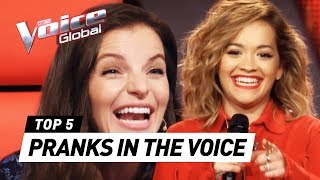 Download Superstars PRANK The Voice coaches with unexpected Audition Video