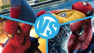 Download Spider-Man: Homecoming VS Spider-Man (2002) VS The Amazing Spider-Man : Movie Feuds Video