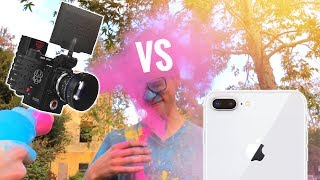 Download iPhone 8 Slow Motion vs $30,000 RED Camera Video