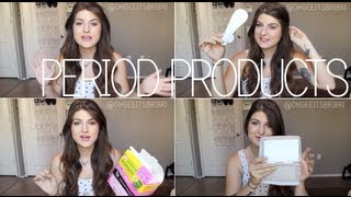 Download my favorite period products! ✿ tampons, pads, etc. Video