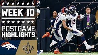 Download Broncos vs. Saints | NFL Week 10 Game Highlights Video