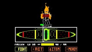 Download Undertale - Genocide Grillby Fight (Unitale) - No deaths Video