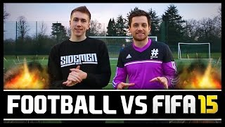 Download FOOTBALL VS FIFA WITH MINIMINTER! Video