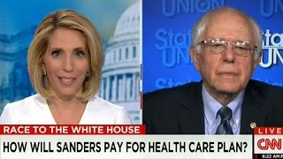 Download Bernie Sanders Snaps At CNN Host Over Non-Substantive Questions Video