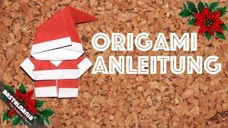 Download ORIGAMI Anleitung Weihnachtsmann DIY ORIGAMI Santa Claus Video