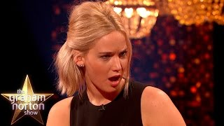 Download Jennifer Lawrence Shocked By Eddie Redmayne's Early Model Photos - The Graham Norton Show Video