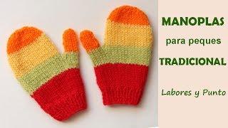 Download Como tejer manoplas para niños de forma tradicional a dos agujas Video