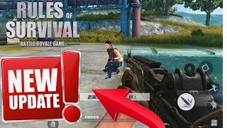 Download Rules Of Survival ! Grinding Ranked Play on First Person ! Giveaway In Description ! Video
