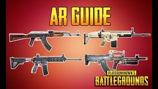 Download PLAYERUNKNOWN'S BATTLEGROUNDS AR GUIDE! PUBG GUN GUIDE! TrainingGrounds Episode 4! PUBG LIVE! Video