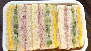 Download Three color sandwich (Samsaek sandwich : 삼색샌드위치) Video