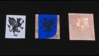 Download Salt Water Etching Using PNP Blue Resist Video