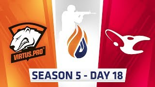 Download ECS Season 5 Day 18 - Godsent vs G2, Virtus.pro vs Mouz // Luminosity vs Rogue, NRG vs Rogue Video