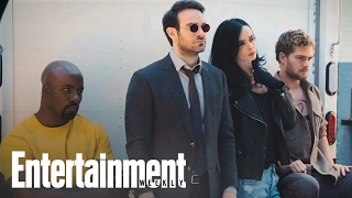 Download The Defenders: First Look At Marvel Mashup | Cover Shoot | Entertainment Weekly Video