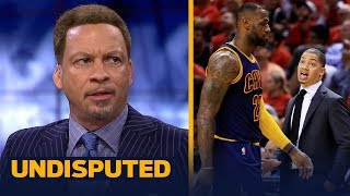 Download Chris Broussard on Ty Lue giving advice to Luke Walton on coaching LeBron | NBA | UNDISPUTED Video
