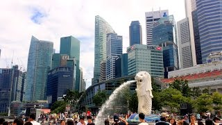 Download Singapore City Tour // from Changai airport to little India Video