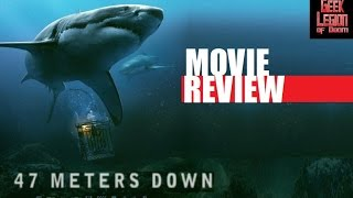 Download IN THE DEEP ( 2016 Mandy Moore )aka 47 METERS DOWN Shark attack Movie Review Video