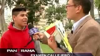 Download Examen callejero: estudiantes limeños vs. un libro de primaria Video