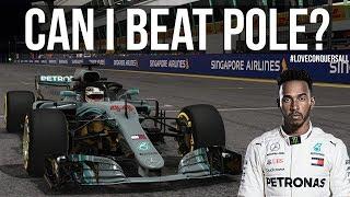 Download Can I Beat Lewis Hamilton's Singapore Pole Lap? Video