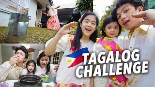 Download SPEAKING TAGALOG VLOG CHALLENGE?!! | Ranz and Niana Video
