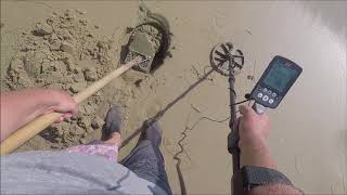 Download Beach Metal Detecting Ring Day Video