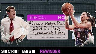 Download Sue Bird's famous Big East Tournament buzzer-beater needs a deep rewind | 2001 UConn vs. Notre Dame Video