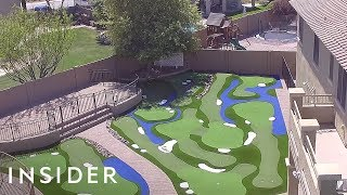 Download Turn Your Backyard Into A Mini Golf Course Video