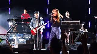 Download Linkin Park - Waiting for the End (feat. Sydney Sierota) @ Hollywood Bowl, LA, 10/27/2017 Video