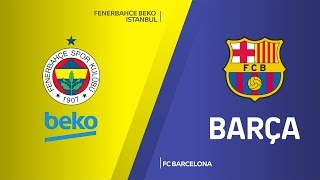 Download Fenerbahce Beko Istanbul - FC Barcelona Highlights | Turkish Airlines EuroLeague, RS Round 20 Video