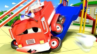 Download Baby Frank's Toothache - Amber the Ambulance in Car City l Cartoons for Children Video